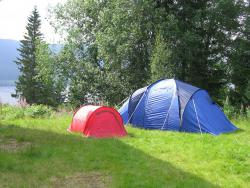 Camping teltplass. Camp 2